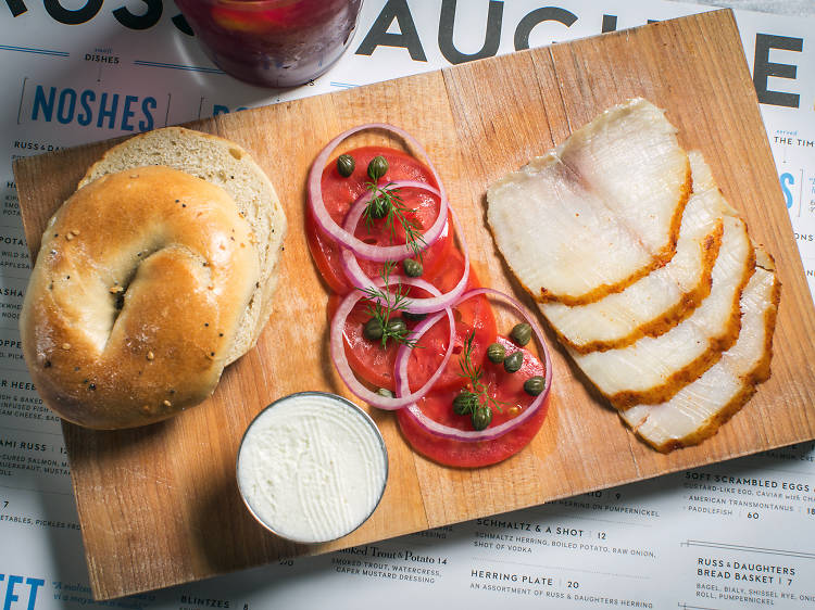 The Lower East Side is still the place to go for lox.