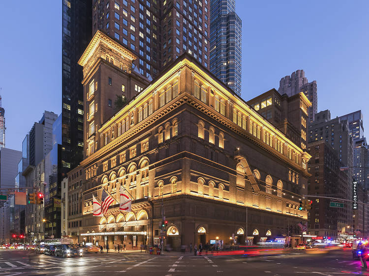 Carnegie Hall offers $10 day-of tickets to almost every one of its shows.