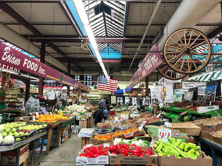 In the Bronx's Little Italy, the Arthur Avenue Retail Market offers a little bite of the Old World just off the 4 train. (And it tastes delicious.)
