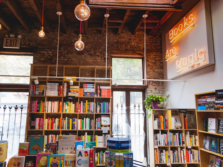 New York's indie-bookstore scene is on the upswing.