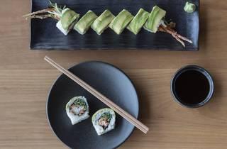 Food sushi at Zushi