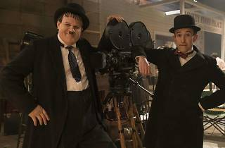 John C Reilly and Steve Coogan in Stan and Ollie