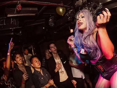 hong Lesbian kong bars