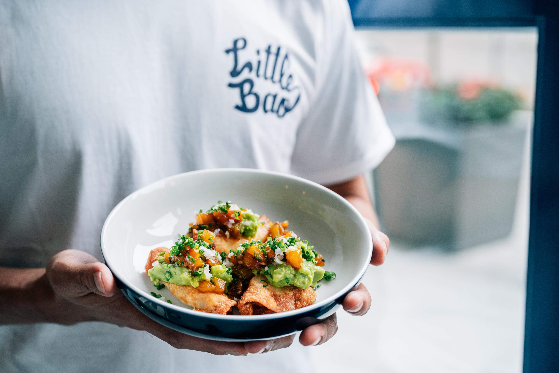 Little Bao Diner - shrimp tacos