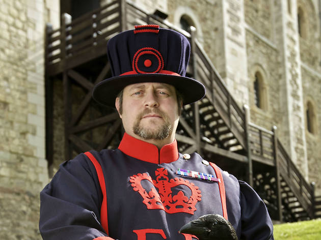 Things you only know if you're the Tower of London's Ravenmaster