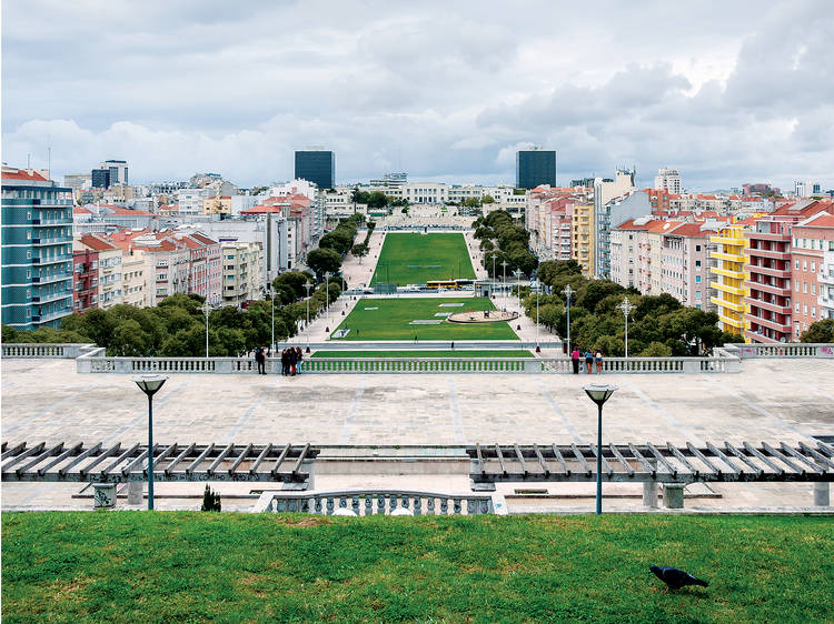 Jardim da Alameda D. Afonso Henriques