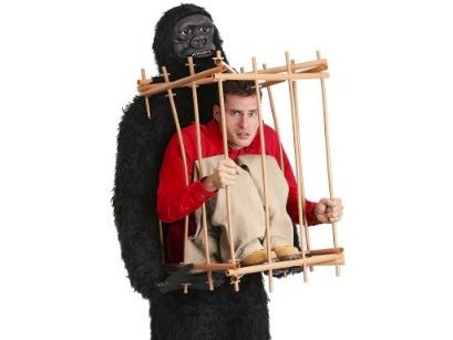 1 Funny Halloween costumes gorilla
