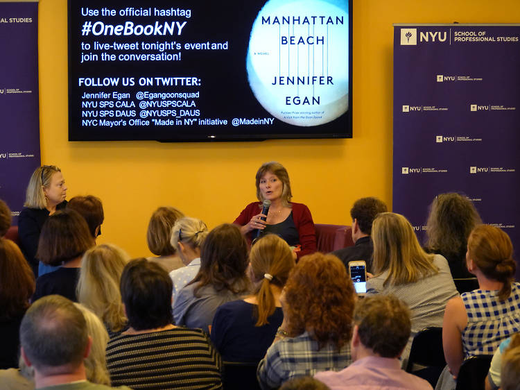 Thanks to OneBook, One New York, the entire city is now in the same book club.