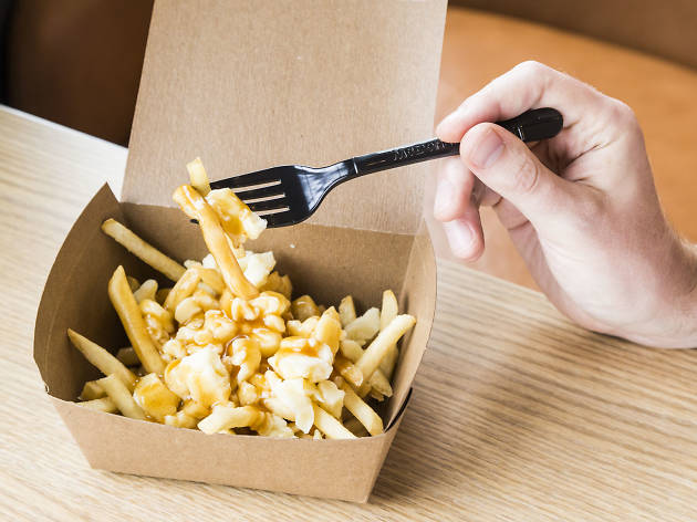 Poutine is currently on the menu at the West Loop McDonald's