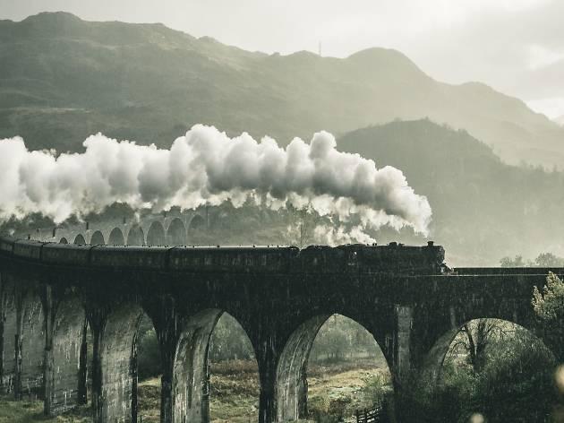 Old-fashioned train
