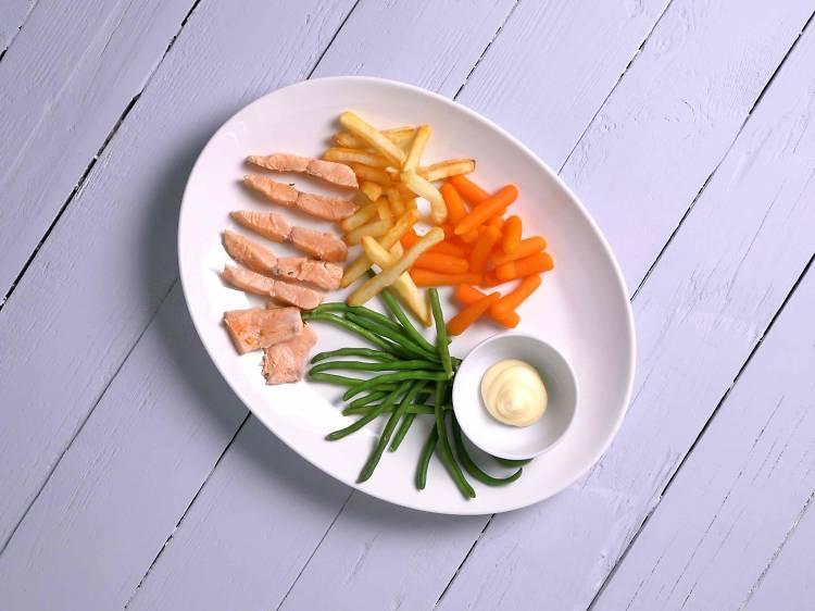 Filets de salmó Fingerfood