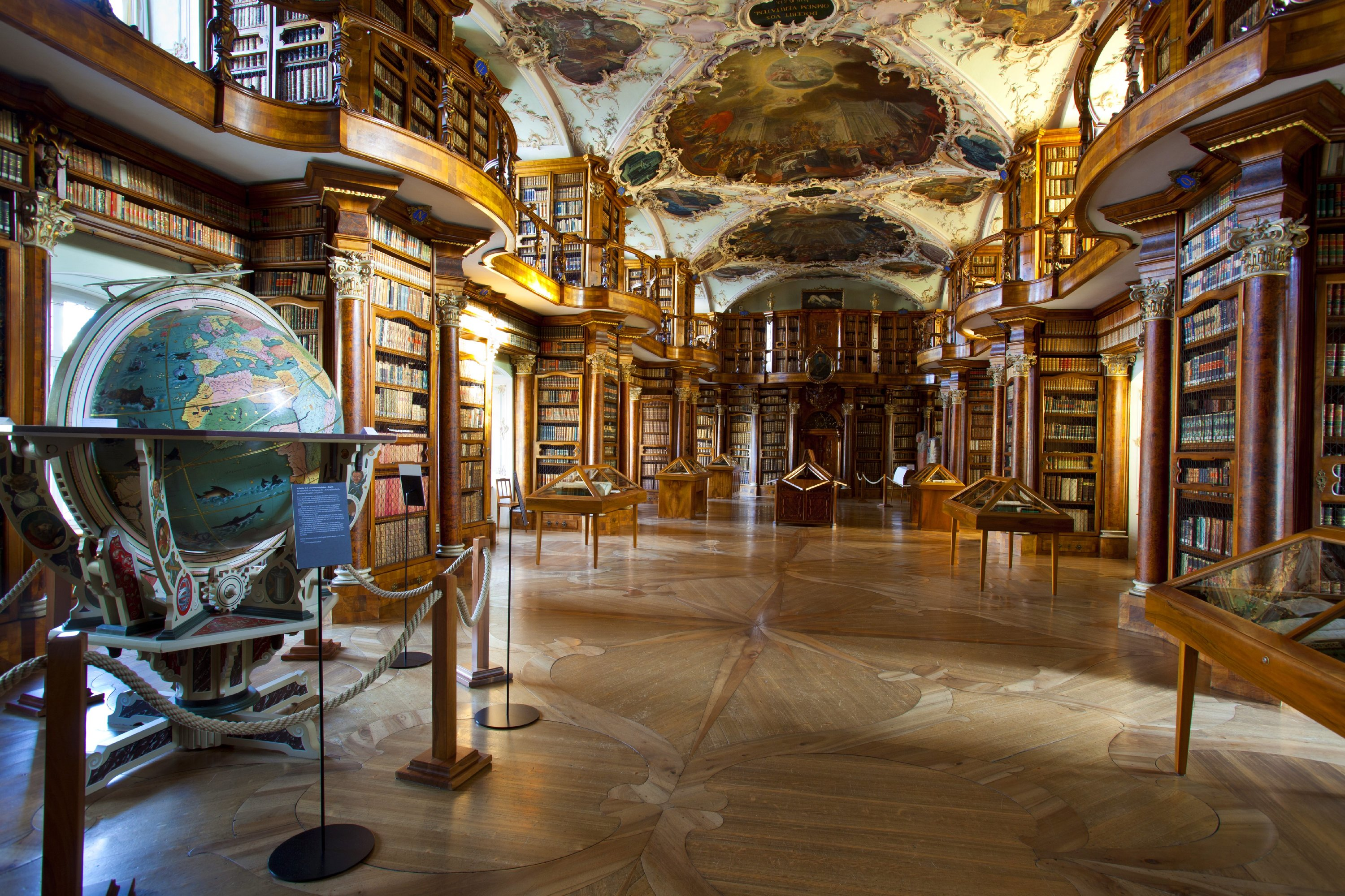 The Abbey Library of St Gallen