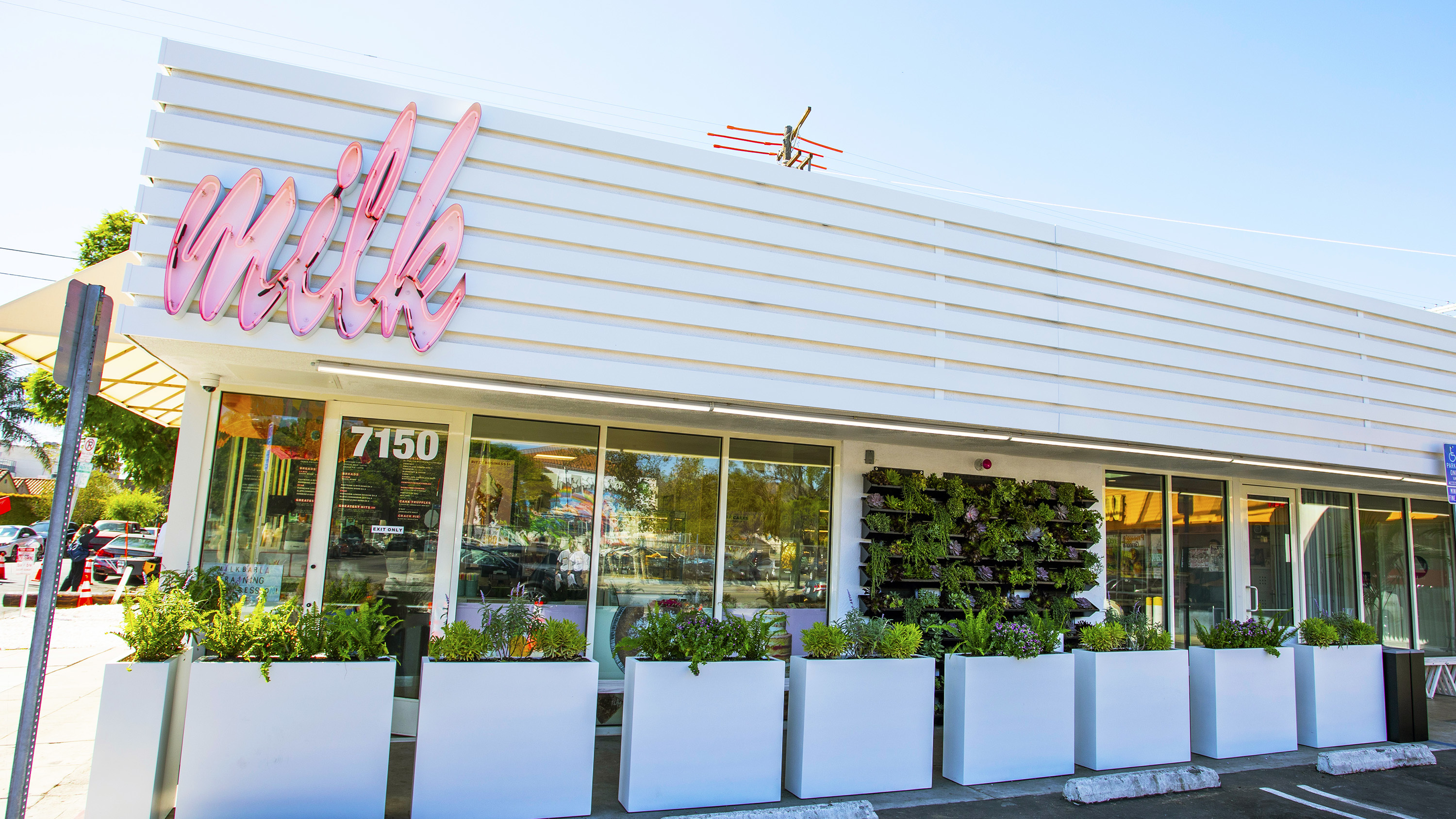Take a peek inside L.A.'s first Milk Bar, which boasts cakes, classes and an experimental bakery