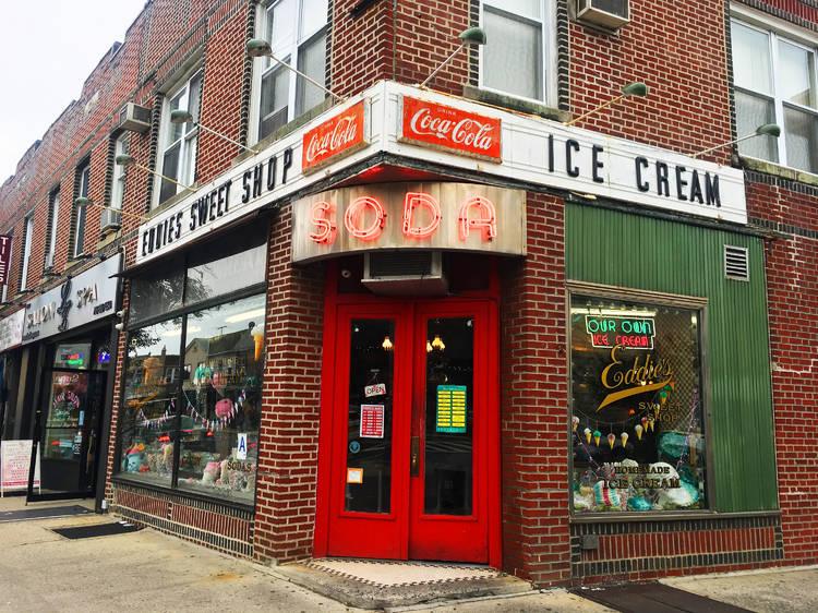 Frosted Milkshake at Eddie's Sweet Shop