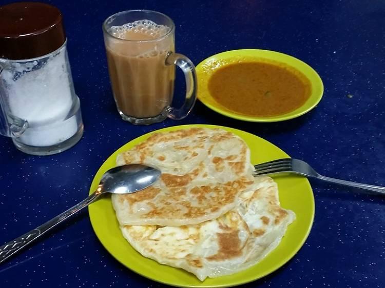 Thasevi Food Famous Jalan Kayu Prata