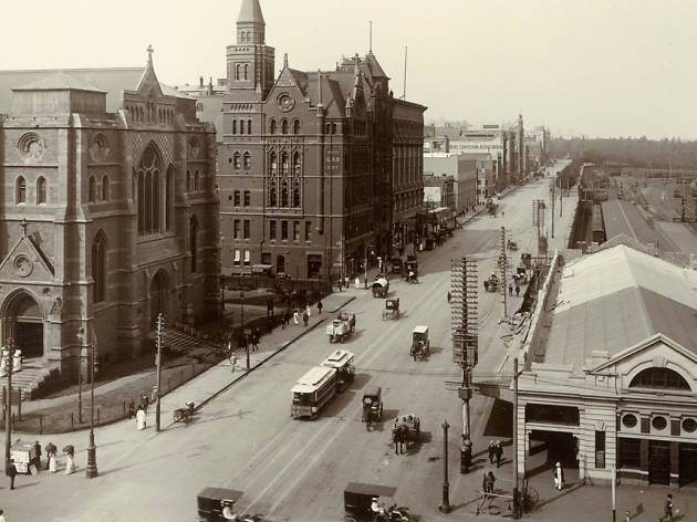 In pictures: Take a look at these famous Melbourne landmarks back in the day
