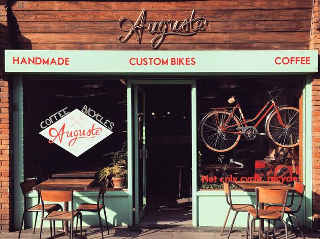 13 Brilliant Bike Cafés | London's Best Cycle Cafés