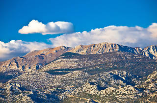 Paklenica national park on Velebit