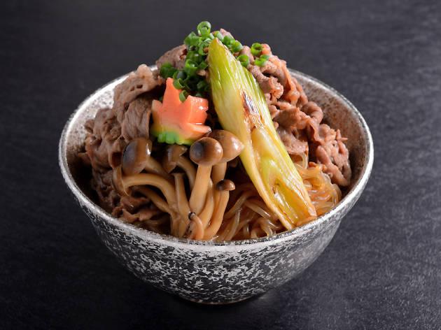 Keisuke Beef Sukiyaki Don