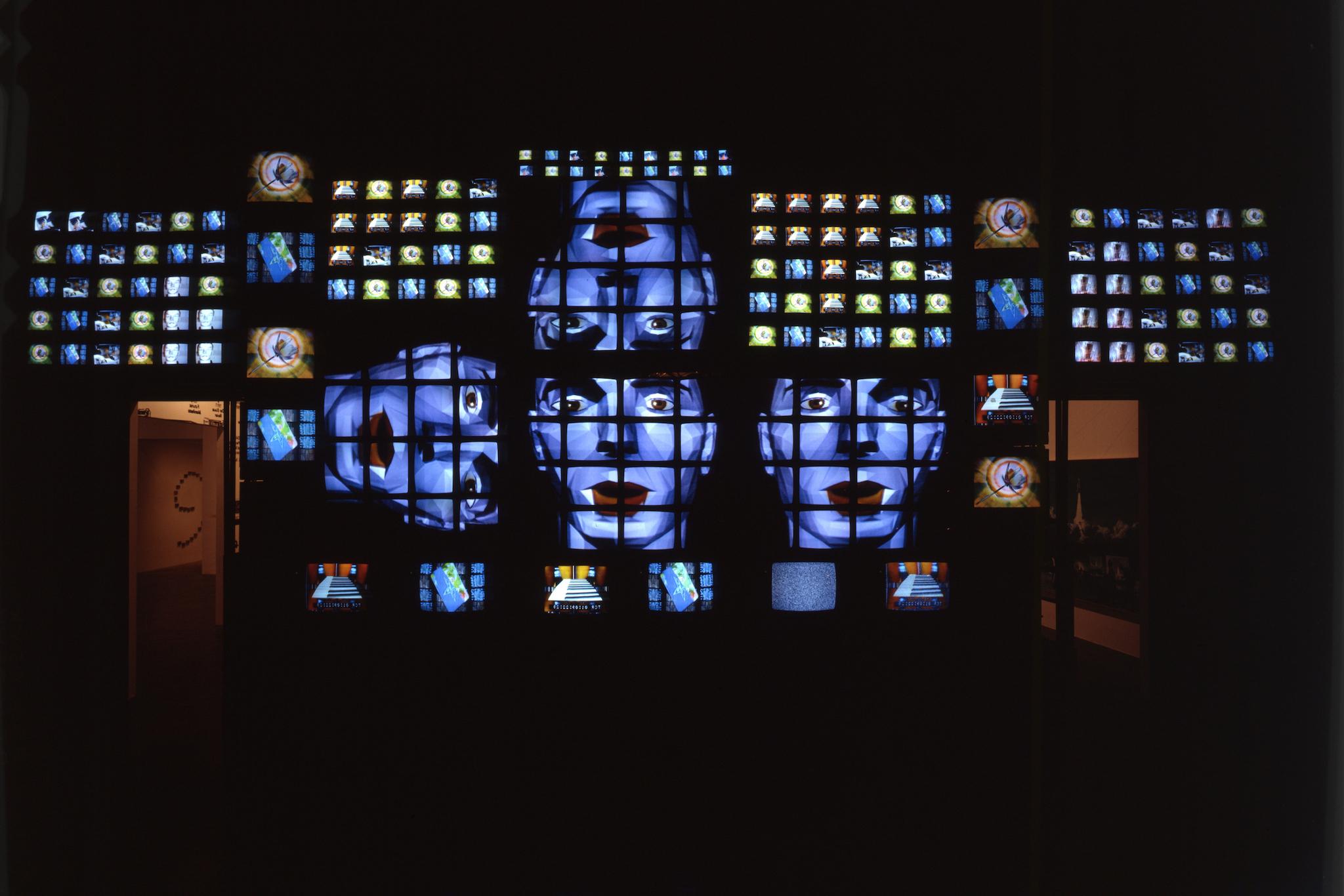 Nam June Paik, Fin de Siecle II, 1989