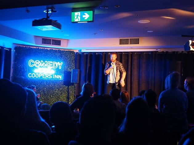 Comedy at the Cooper's Inn supplied pic 2018
