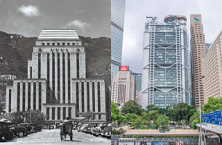 Hong Kong iconic building main