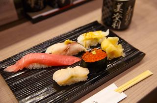 梅丘寿司の美登利 日本橋店