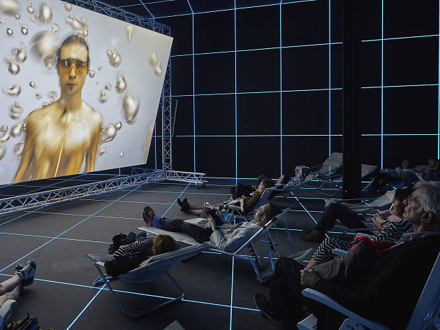 Hito Steyerl ' Factory of the sun' NGV 2018 supplied photo