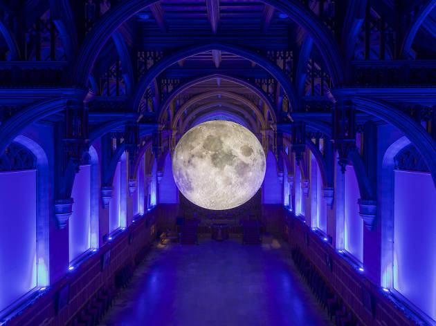 Luke Jerram's Museum of the Moon at the University of Bristol 2017