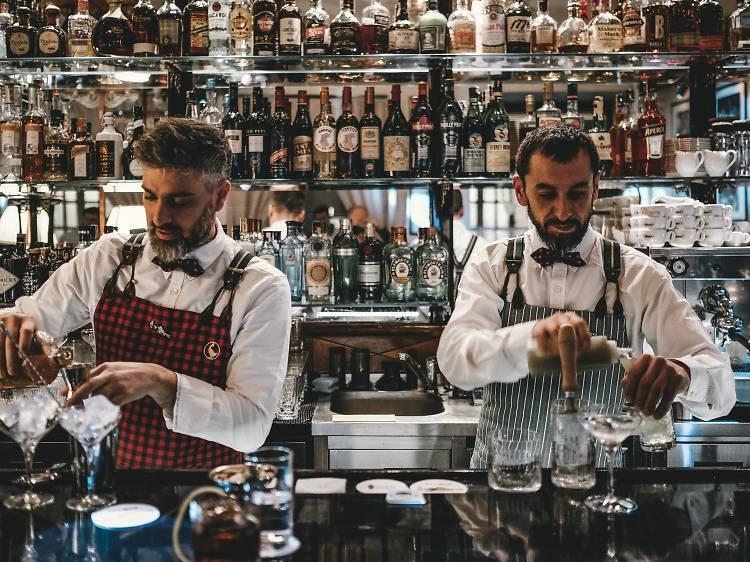 Sip a cocktail at Salmón Gurú