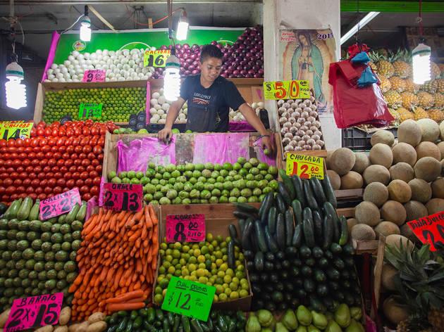 guisados, comida mexicana, verduras