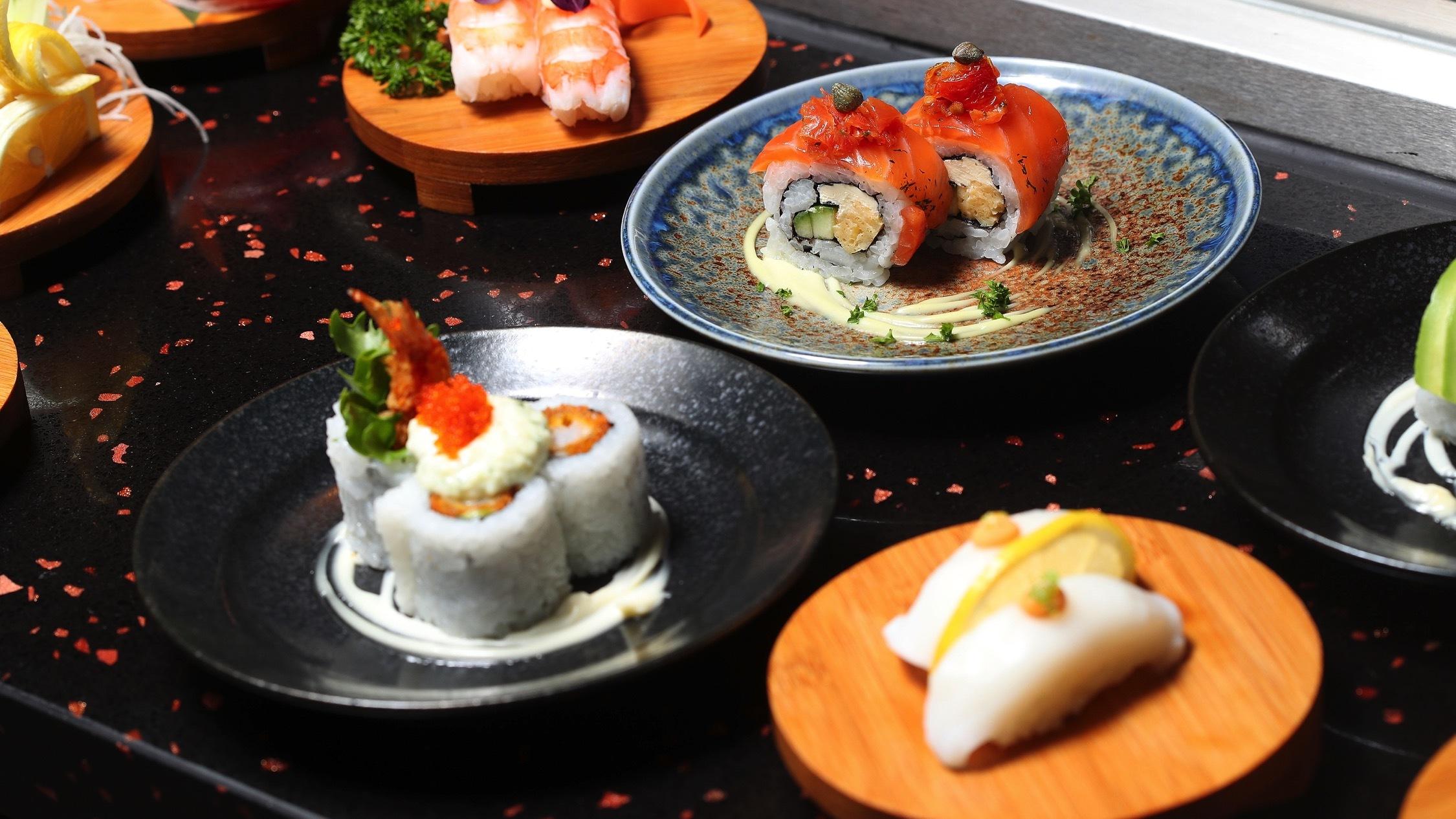 Food at Ganbare Kaz