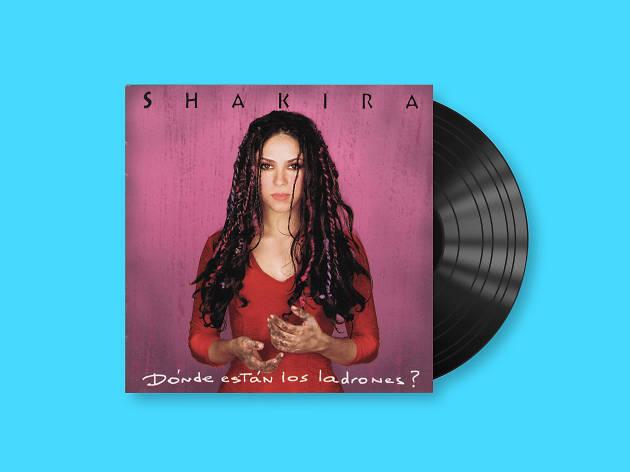 ¿Dónde están los ladrones?, cuarto disco de Shakira
