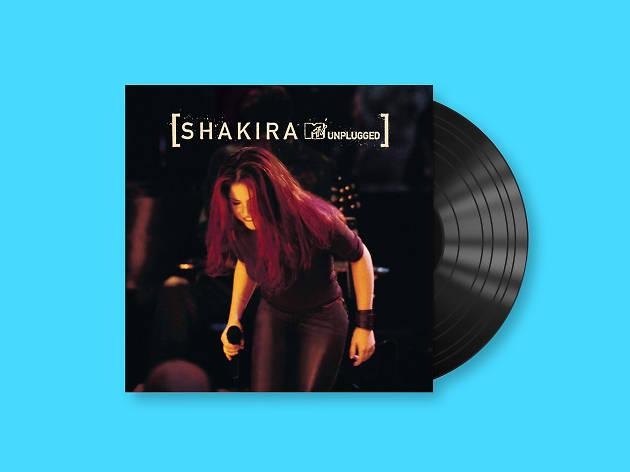 Shakira MTV Unplugged, el primer disco en vivo de la cantante colombiana