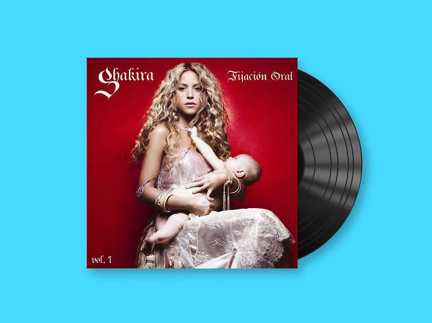 Shakira, presentó su disco Fijación oral vol. 1