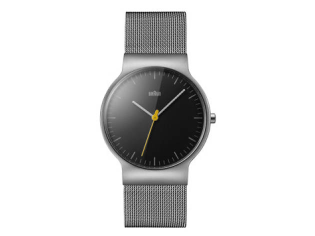 Braun men's slim watch