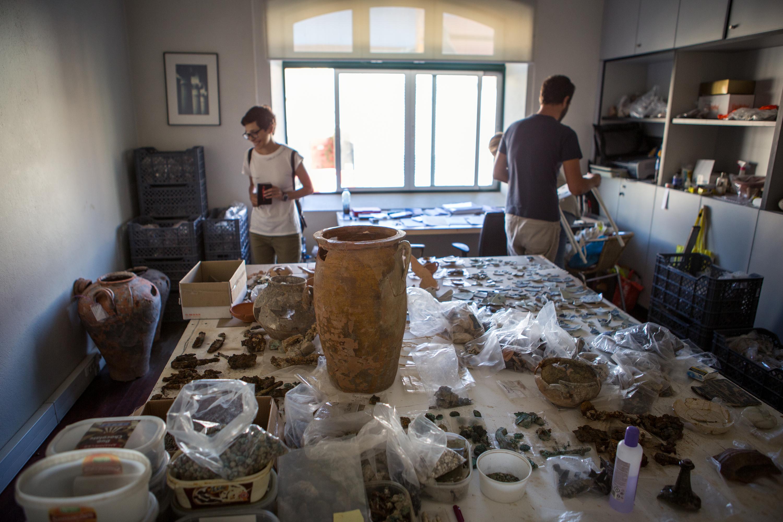 arqueólogos dos ecopontos