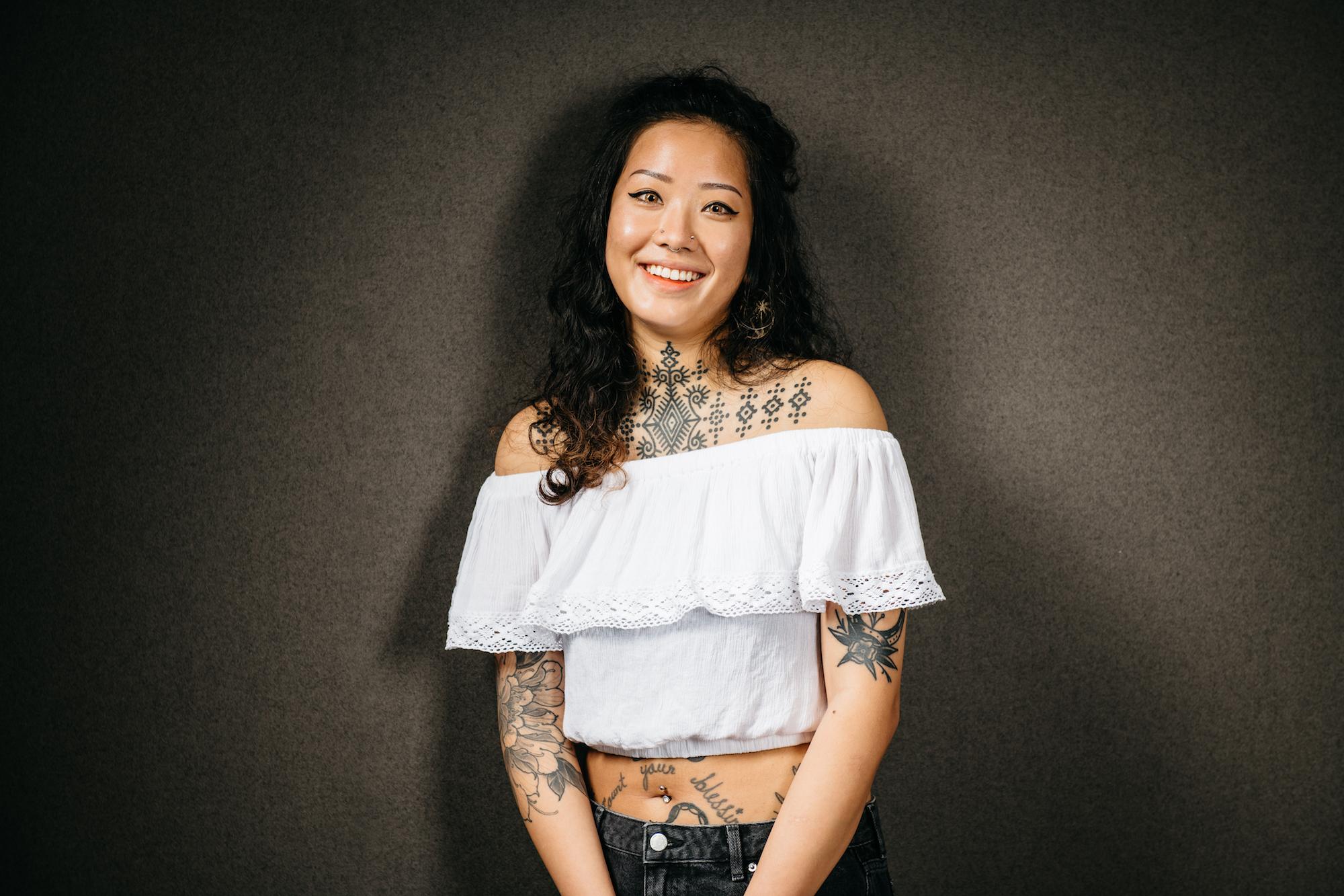 Olivia lim, tattoo