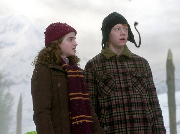 DO NOT REUSE. Ron and Hermione. Warner Bros Studio Tour campaign.