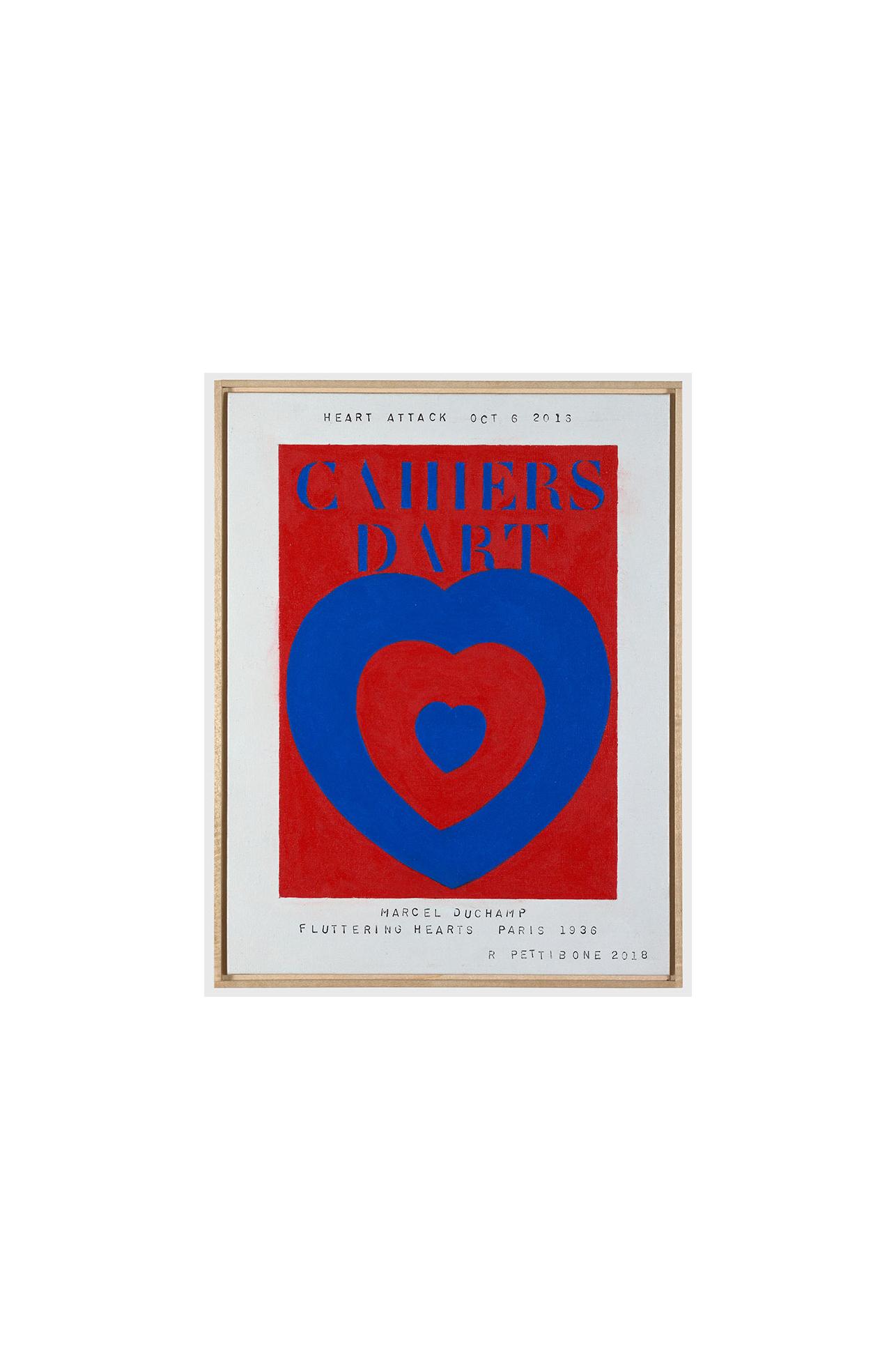Richard Pettibone, Heart Attack #4, 2018