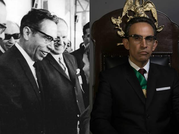 Gustavo Díaz Ordaz, personaje de Un extraño enemigo