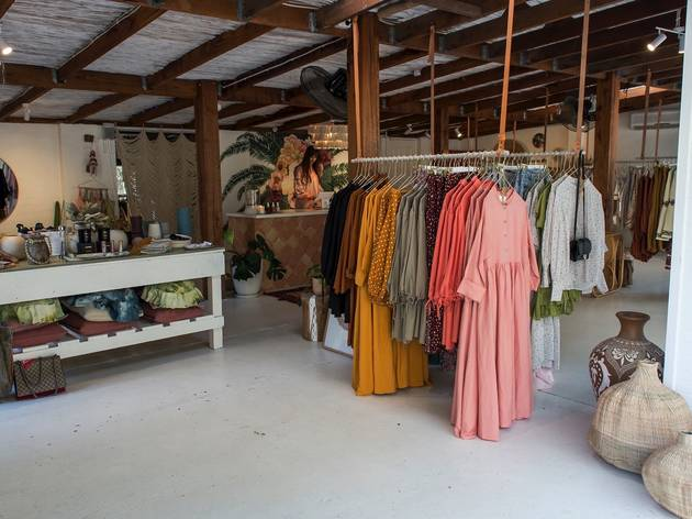 Clothes inside La Boheme
