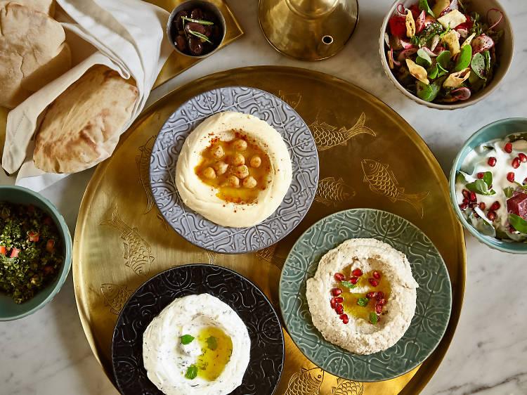 Quatro restaurantes libaneses onde vale a pena reservar mesa