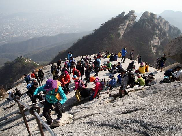 Bukhansan Mountain Walk
