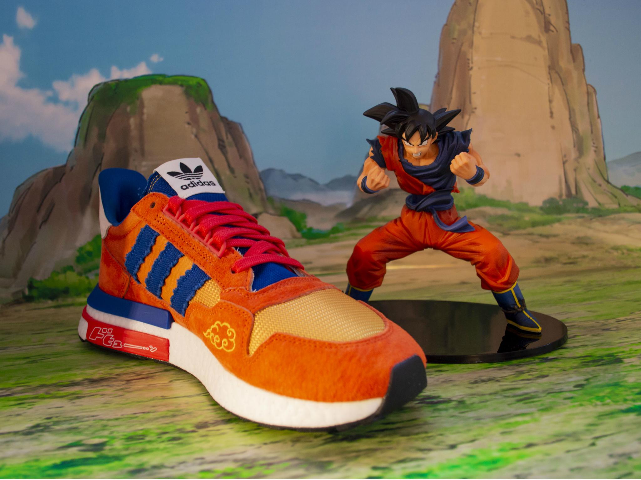 Los tenis Adidas Originals y Dragon Ball Z ya están a la venta