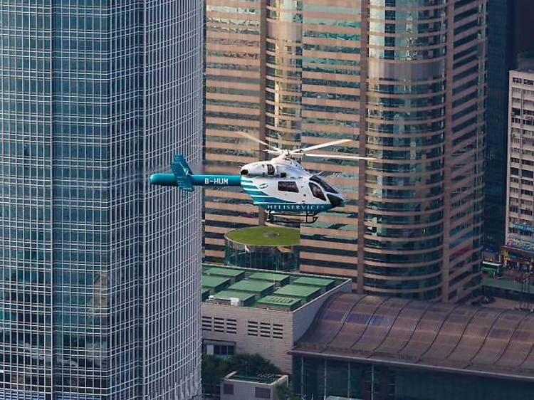 Commute via private helicopter