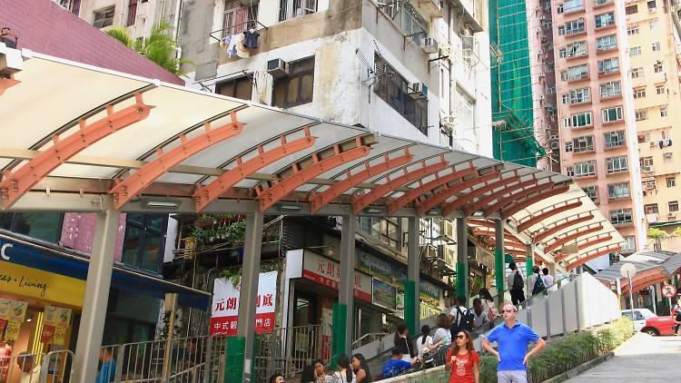 Sai Ying Pun, Centre Street
