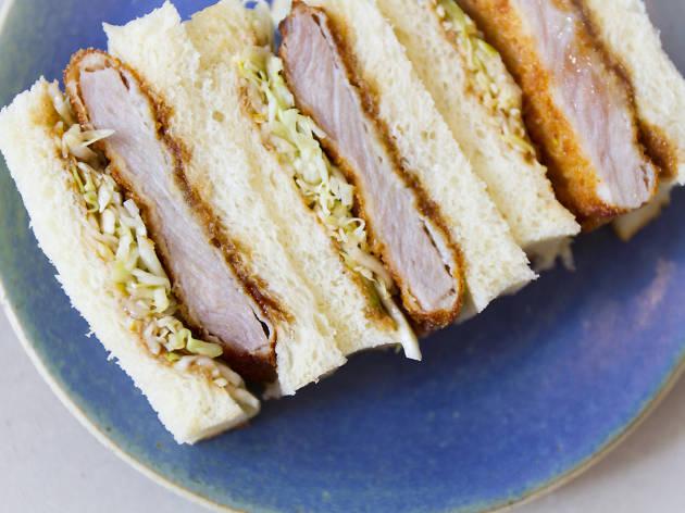 Konbi katsu Japanese sandwich shop in Echo Park