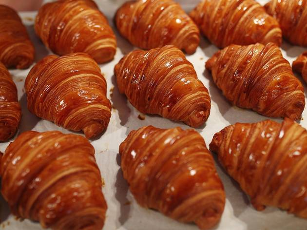 croissants at Lune Collins Street