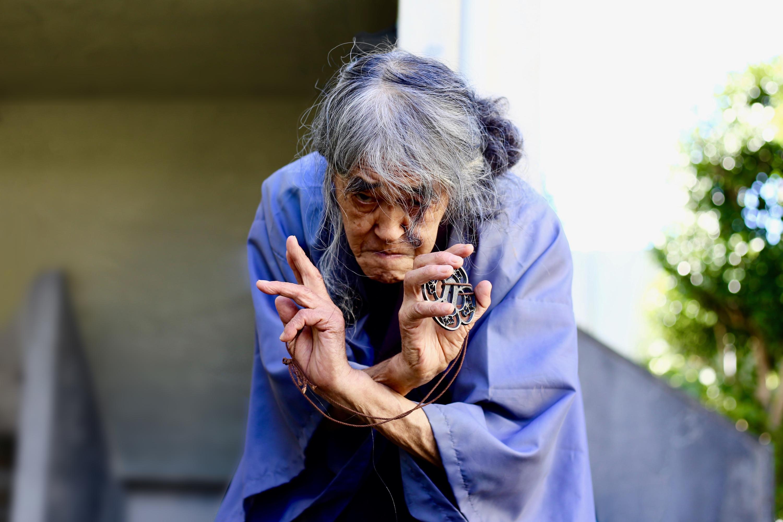もがき続ける88歳 ギリヤーク尼ヶ崎が考える人生、そして今後